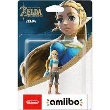 The Legend Of Zelda Breath Of The Wild Princess amiibo Nintendo Switch Wii U.