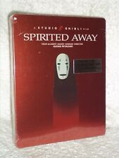 Spirited Away (Blu-ray, 2020 LIMITED EDITION STEELBOOK) anime Hayao Miyazaki NEW