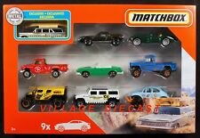 2020 Matchbox 9-Pack Exclusive '59 Chevy Brockwood Wagon SILVER + Lotus / MIB