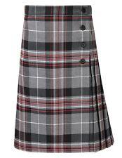 KELSO Tartan KILT/skirt-INSIDE WAIST ADJUSTER QUALITY Tartan SCHOOL/HOME KILT