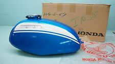 1971 HONDA  SL350 SL 350 MOTOSPORTS GAS TANK NOS NEW BLUE 17500-312-030CN T23