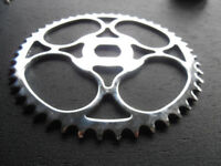 COLUMBIA Bicycle Chain Ring  FIT ELGIN WESTFIELD 44 Tooth  Chrome