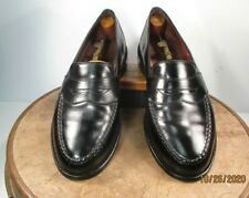 Allen Edmonds Randolph Black Leather Full Strap Penny Loafer size 10 EEE