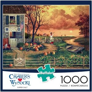 Buffalo Games 1000pc Jigsaw Puzzle Charles Wysocki Supper Call