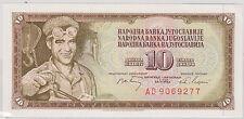 (EP46) 1968 Yugoslavia 10 sinara bank note UNC