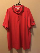 Puma Kapalua Golf Resort Men's Red Cool Cell Polo XXL Embroidered Butterfly Logo