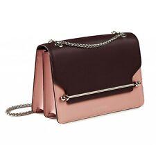 Strathberry East West Plum Pink Silver Shoulder Bag Authentic Black OZ STOCK