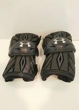 Under Armour Ua Charge Lacrosse Lax Arm Guards Pads Chapapm Black Adult Large