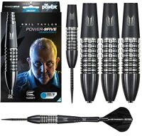 Phil Taylor Generation 4 9Five 95% Tungsten Steel Tip Darts by Target - Black G4