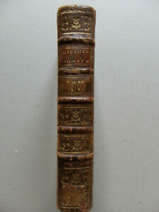 Charles ROLLIN, HISTOIRE ROMAINE, tome second seul, 1771