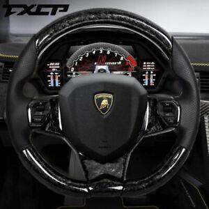 Real Carbon Fiber Steering Wheel for Lamborghini Aventador S Roadster