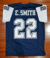 Emmitt Smith Autographed Signed Jersey Dallas Cowboys Beckett