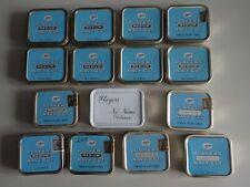 Lot 15 Player's Medium Navy Cut Tobacco Tins  EXCELLENT