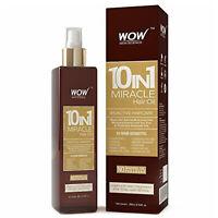 WOW Argan Hair Oil Growth Treatment - With Almond & Jojoba - For Men & Women