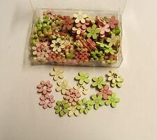 144 Holzblüten Holz Blüten Blumen Streudeko Tischdeko Holzstreuteile