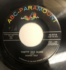 RONNIE SELF ~ PRETTY BAD BLUES ~ ABC-PARAMOUNT ~ Rare Orig. Rockabilly 45