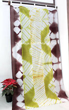 Handmade Patchwork Door Bay Window Curtains Boho Decor Valance Panels 100%Cotton