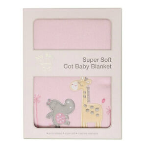 My Baby Tropicana Super Soft Cot Cloth/Blanket Bag Wrap for Babies/Infant Pink