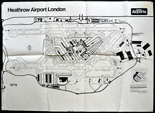 HEATHROW AIRPORT LONDON 1978 BRITISH AIRPORTS EXPANSION PLAN