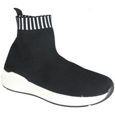 Ladies Running Trainers Womens Fitness Gym Sports Pumps Slip On Sock Shoes Size