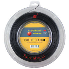 Kirschbaum Pro Line II (Black) 1.20mm/17L 200m/660ft Tennis String Reel