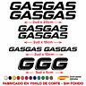 KIT PACK PEGATINAS STICKER VINILO GASGAS MOTO VINYL AUFKLEBER GAS GAS DECAL