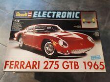 Vintage Revell 1/12 Ferrari 275 GTB 1965 Kit Modelo Electrónica.! Raro!