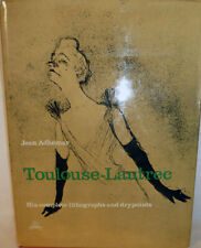 Jean Adhemar / Toulouse-Lautrec His Complete Lithographs and Drypoints 1st 1965