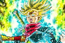 Dragon Ball Super Poster Future Trunks Super Saiyan 12in x 18in Free Shipping