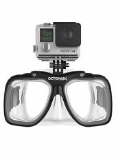 Octomask 1: Scuba & Snorkeling Mask with GoPro Mount