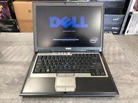 Dell Latitude D630 Laptop Core 2 Duo CPU, 160GB 4GB Win 7 ~ NEW Battery, D620