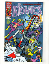 The Atomics #12 (2000, AAA Pop Comics) FN/VF Mike Allred Madman Nowlan Poster