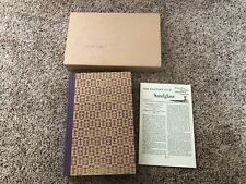 Madame Bovary Gustave Flaubert Hertiage Press 1950 with Sandglass
