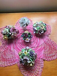 Vintage Flower China Coalport/Staffordshire/Denton/Heathcote