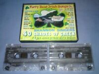 SHANNON SINGERS 40 SHADES OF GREEN Double cassette tape album T6072