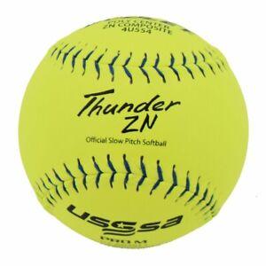"Dudley Pro M USSSA 44/375 ZN Composite Softball 12"" Dozen"