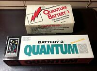 Portable Flash Unit Quantum Battery 1 & 2 High Capacity 9-Volt Pack NEW IN BOXES