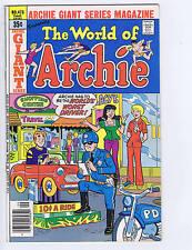 Archie Giant Series Magazine Presents #473 Archie Pub 1978