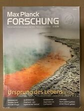 Max Planck Forschung Ursprung des Lebens Wissenschaftsmagazin 2/2018 Sammler