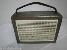 Vintage Radio Grundig Transistorbox  Kofferradio Transistorradio 50s 60s