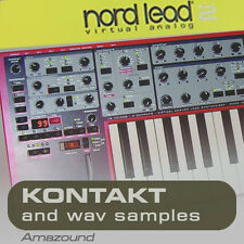 NORDLEAD 2 SAMPLES for KONTAKT 99 nki 2.5G 24bit WAV PC MAC MPC