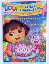 2 DVD DESSIN ANIME DORA L'EXPLORATRICE / JOYEUX ANNIVERSAIRE DORA