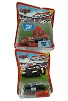 Lot of 2 Disney Pixar World of Cars Race O'Rama Cars, Brand New READ DESCRIPTION