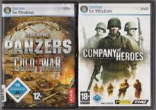 Company of Heroes + Codename Panzers Cold War Panzer Flugzeuge Schiffe PC Spiele
