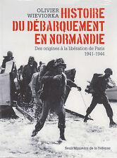 HISTOIRE DU DEBARQUEMENT EN NORMANDIE origines à Libération de Paris 1941-1944