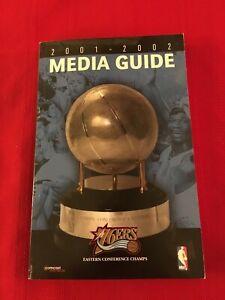 2001-2002 NBA Philadelphia 76ers media guide / 2001 NBA Finals / Iverson / Snow