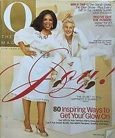 ELLEN DEGENERES & OPRAH WINFREY December 2009 O Magazine