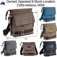 Best NEW Retro Vintage Travel Messenger Canvas Bag Satchel Shoulder School Bags