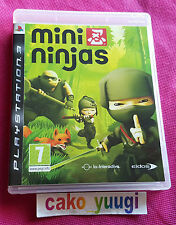 MINI NINJAS SONY PS3 TRES BON ETAT GENERAL VERSION 100% FRANCAISE