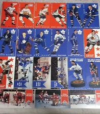 Lot (21) 1994 Parkhurst Hockey Tall Boys - Sawchuk - Rangers, Canadiens, Leafs +